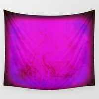 rothko Wall Tapestries featuring Rothko Inspired Visceral by Corbin Henry