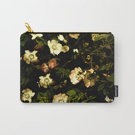 Floral Night I Carry-All Pouch