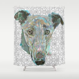 Sweetheart Hound Shower Curtain