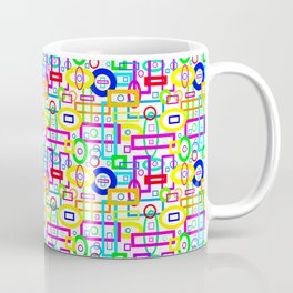 Rectangles and Elipses in Color (2018) Coffee Mug