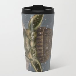 Christmas Yoda Travel Mug