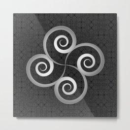 Beautiful Celtic style decoration Metal Print