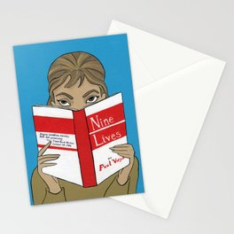 Audrey Hepburn in Breakfast at Tiffany's Stationery Cards