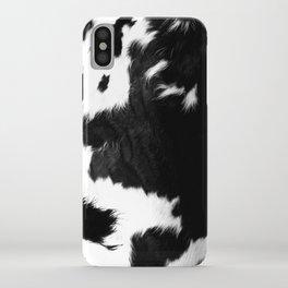Rustic Cowhide iPhone Case
