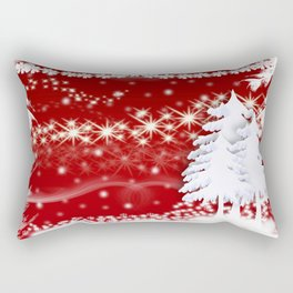 New years eve christmas Rectangular Pillow