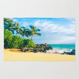 Paako Beach Makena Maui Hawaii Rug