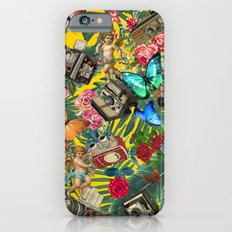 tropical in yellow  Slim Case iPhone 6s
