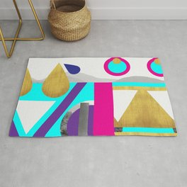 Abstractions No. 2: Mountains Rug