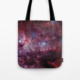 Carina Nebula of the Milky Way Galaxy Tote Bag