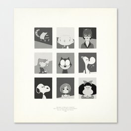 Super Mercredi Bros Heroes (2/8) Canvas Print