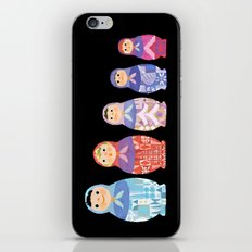 Small, Smaller, Smallest iPhone & iPod Skin