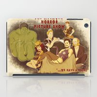 rocky horror picture show iPad Cases featuring The Avenger Horror Picture Show by Leigh Lahav