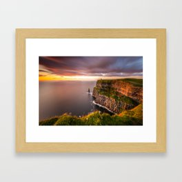 Cliffs of Moher Framed Art Print