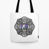 howl Tote Bags featuring Howl by amyrose