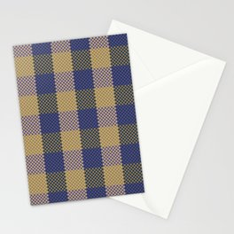Pixel Plaid - Spring Thaw Stationery Cards