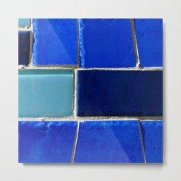 Blue Hues Metal Print