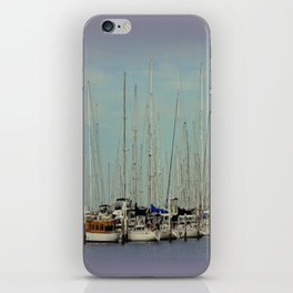 Flotilla of Yachts  iPhone Skin