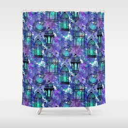 Ramadan Pattern Shower Curtain