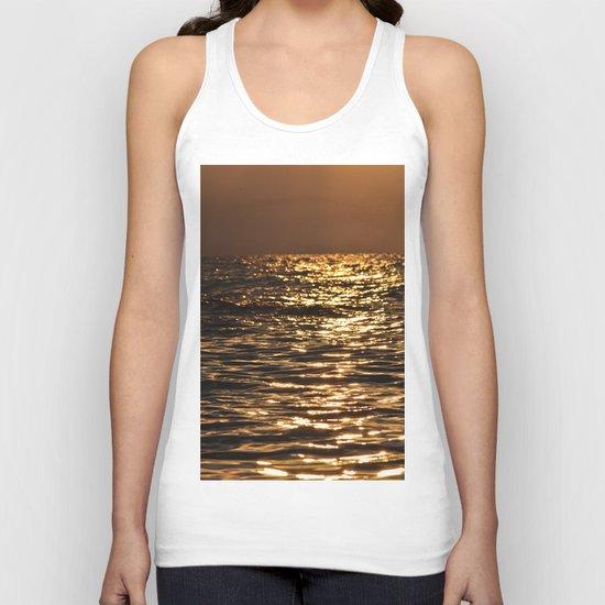 Sea sunset  Unisex Tank Top