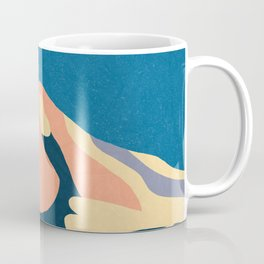Over The Sunset Mountains Coffee Mug