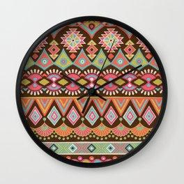 Tribal Design 1 Wall Clock