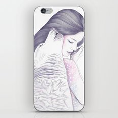 Twin Souls iPhone & iPod Skin