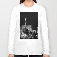 las vegas Long Sleeve T-shirts featuring Las Vegas by Sara Ess