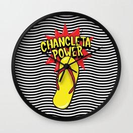Chancleteo Groovy Wall Clock