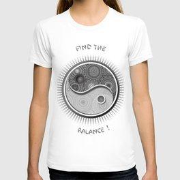 Jing Jang Mandala T-shirt