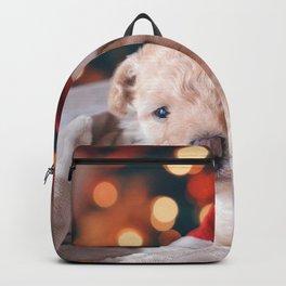 Santa Dog (Color) Backpack