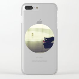 Record player Clear iPhone Case
