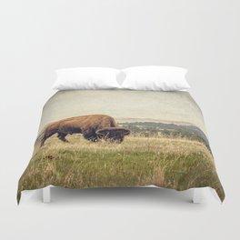 Bison Land Duvet Cover