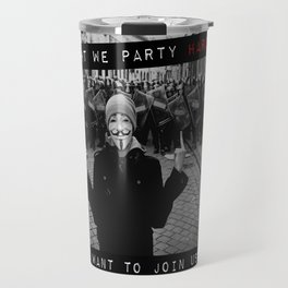 PARTY HARD Travel Mug