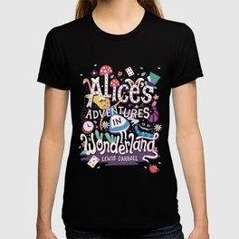 Alice's Adventures in Wonderland - Lewis Carroll T-shirt