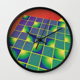 Retro style perspective Wall Clock