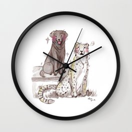 Moose and Donni Wall Clock