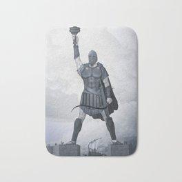 The Colossus of Rhodes Bath Mat