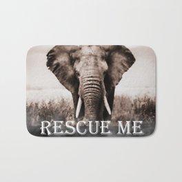 Elephant Rescue Bath Mat