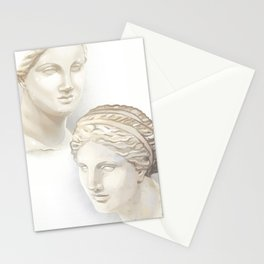 Dueling Aphrodites Stationery Cards