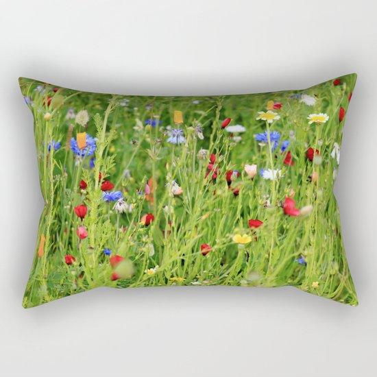Colourful Garden - JUSTART © Rectangular Pillow