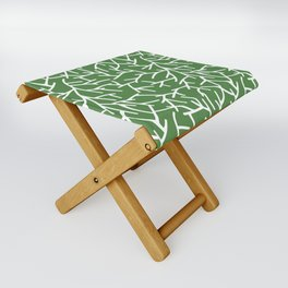 Branches - green Folding Stool