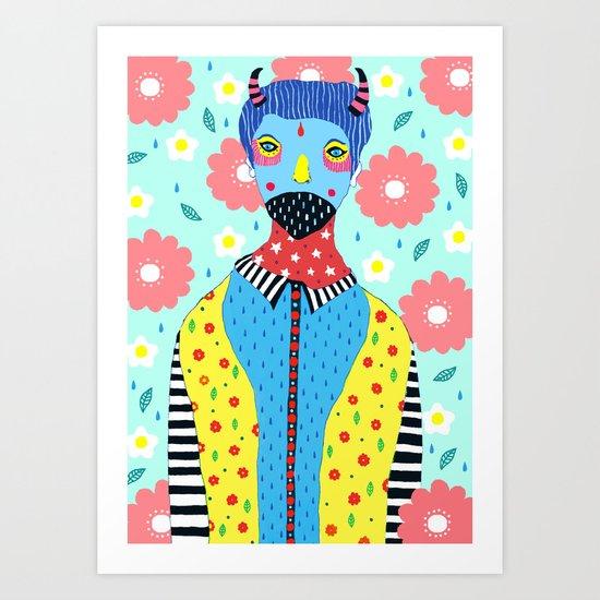 Make Me Colourful Art Print