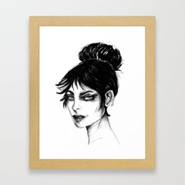 Modesty Blaise Framed Art Print