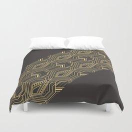 Art Deco Geometric Glam Duvet Cover