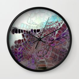 Steps To Somewhere Wall Clock
