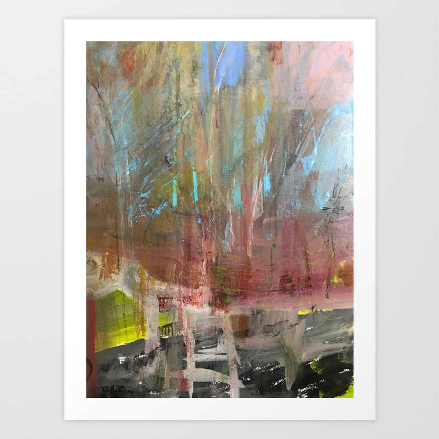 Nyc Central Park Art Print By Robinpedrero Society6