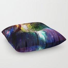 rainbow rain Floor Pillow