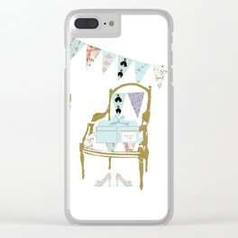 A French Dress Shop Clear iPhone Case