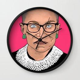 Queen of Dissent Wall Clock