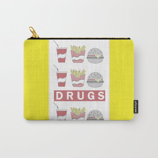 DRUGS Carry-All Pouch
